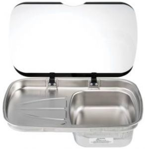 SPINFLO ARGENT LH SINK/GLASS
