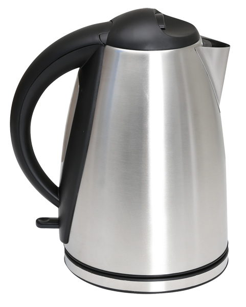 1.7L Low Wattage Stainless Steel Kettle in brushed stainless steel